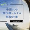 1歳児を連れて沖縄-台湾 〜飛行機・ホテル対策方法〜
