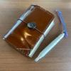 「トラベラーズノート」や「ほぼ日手帳」過去の手帳整理をしながら思い出を振り返る。
