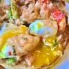 チャールストンの街での朝食はAnother Broken Egg Cafeがお勧め… トロっとした黄身が流れます…