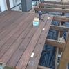 【ウッドデッキDIY】防草処理~床板~完成まで