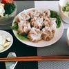 肉シューマイとポテトサラダで満腹(・´з`・)