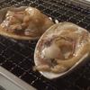 自宅のマンションで牡蠣とはまぐりを浜焼き風に食べる
