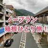 【旅行記】ノープランで行く箱根一人旅!