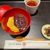東京ミッドタウン『虎屋菓寮』の、あわぜんざい。ホッコリ温まる冬のお楽しみ甘味。