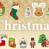 クリスマスパーティーにぴったりの豪華なイラスト素材・商用無料まとめ(PNG)