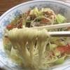 高知は土佐大津の丸太小屋で野菜ラーメンを食す。