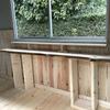 【ハウスDIY進捗】床の次は壁貼り~断熱材・天然板カウンター仮置き