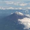 【奈良旅行】飛行機から撮影した富士山と、奈良観光