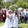 豪州で最初のレズビアン・カップルが挙式
