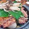 おススメ!カムジャタン(豚背骨ジャガイモ鍋)감자탕【韓国料理で辛くないもの番外編2】普通は辛い