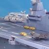 多分こうなる(修正版)F-35Bの「護衛艦いずも」での運用 牽引車付き