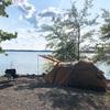 Jordan Lakeでキャンプ