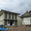 四日市西別院の納骨堂 新築現場です。