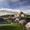 【意外に知られていない】新国立競技場デザインコンペ最優秀賞ザハ・ハディド案のその他の画像――「宇宙船」でも「カブトガニ」でもない?