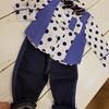 2歳半男の子結婚式の服装👔