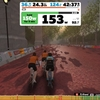 ローラー75、Zwift-SST(Short)