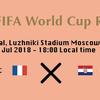 ワールドカップ、あと1試合。