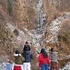 古閑の滝 氷結の風景 阿蘇市 [熊本県]