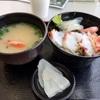 元魚市場跡で海鮮を堪能しました。  @新潟  万代ピア 地魚工房