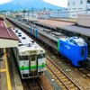 JR函館線の蘭島駅と余市駅で普通列車が制限速度を最大65キロ超で走行!