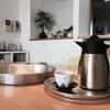 東屋真鍮銀メッキ盆、ポチって試してこんな感じ。