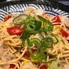 ロカボ料理実践記【豚肉パプリカ塩焼きそば】低糖質 大豆100%麺ソイドル使用