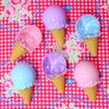アイスクリーム型のプラスチックケースが可愛い [ Seria ]