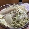 ラーメン二郎 八王子野猿街道店2 『髑髏麺増し ネギ 生玉子』