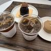 【江南女子のカフェ巡り】 おしゃれでケーキが美味しいカフェ ソンルン駅近のL'AUBENUIT(ロブ二)