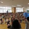 チャレンジタイム:応援練習① 青組