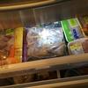 冷凍庫の中身は買い物&食習慣の反映
