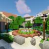花壇のある公園を作る