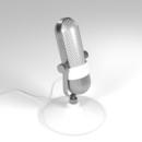 Blender 219日目。「年代物のマイクのモデリング」その7。