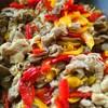 豚肉とパプリカの生姜焼き