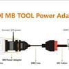 VVDI MBツール電源アダプタデータの取得のみ18分