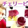 【カラーバター チェリーピンク】金髪と白髪に染め比べ