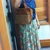 仕事用バッグに。軽くてキチンとしたデザインのフェアトレード手織りハンドバッグ
