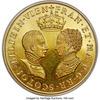 スコットランド1558年フランソワ&メアリ結婚メダルSP63