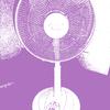 扇風機(夏の忘れ物)