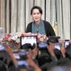 「スー母さん万歳」在日ミャンマー人が歓迎