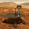 オポチュニティ・ローバーはまだ火星で沈黙しています、叙事詩の塵の嵐が始まって4ヶ月後