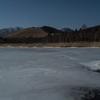 諏訪湖は全然だけど白樺湖、女神湖は氷結