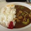 札幌市清田区清田 麺や豊吉(とよよし)でエビアボカドカレー