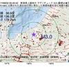 2017年09月02日 05時40分 新潟県上越地方でM3.0の地震