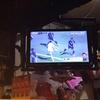 『居酒屋かあちゃん』で日本代表サッカー観戦。