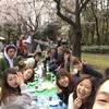 Joule・Selectの合同お花見でした。@新宿中央公園