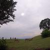 【GoPro hero8】2020年6月21日の部分日食を若草山頂上で撮影してみました。 結果、くもり空の下、山頂で楽しむ観光客の様子が確認できました(失敗)