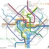 レッドラインとイエローライン【ワシントンDCの地下鉄事情とThe Racial Dot Map】