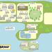『ねこ森町』の地図を描いてみた