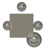 平面と球体の交差を作る2